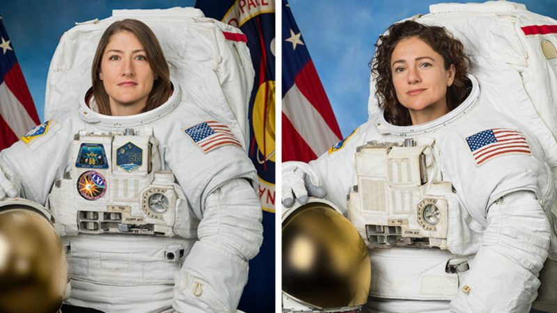 The First All-Female Spacewalk - The Advocate