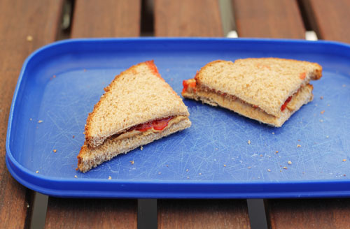 Why a Triangle is the Best Sandwich Shape